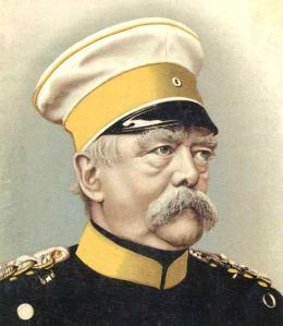 Otto Eduard Leopold von Bismarck-Schönhausen (Schönhausen, 1 de abril de 1815 – Friedrichsruh, 30 de julio de 1898 ).