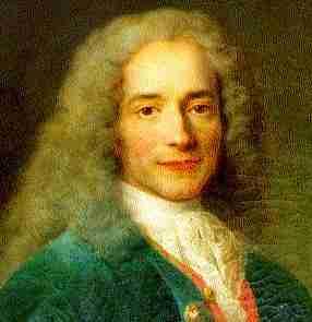 François Marie Arouet, más conocido como Voltaire (París, 21 de noviembre de 1694 – ibídem, 30 de mayo de 1778)
